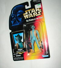 Star Wars POTF Greedo Orange Card 1996 MOC ANH ESB ROTJ  original trilogy 1014