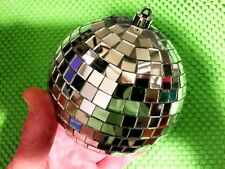 SPARKLNG LIGHT 4 INCH Disco MIRROR BALL Party, reflected sunlight and 3 ft cord