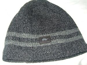 New Turtle Fur Ragg Woll Mr. Happy Gray Adult Beanie One Size Knit Winter Hat