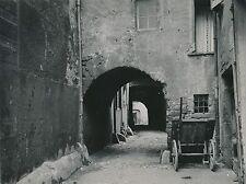 MILLAU c. 1900-20 - Rue Vieilles Maisons Passages Voutés Aveyron Div 7207