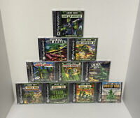 ENTIRE Complete Army Men Lineup Playstation 1 PS1 Cleaned Tested Pro Covers