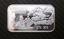 1 Oz .999 Silver USPS A CENTURY OF PROGRESS DEATH VALLEY MINT 1000TH MINT #1342