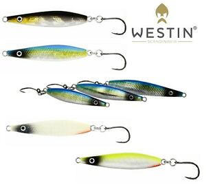 Westin Fishing Lures 5,5cm SALTY JIG Slow 12g Predator Saltwater Bass Perch LRF