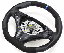 Aplatie ALCANTARA CUIR Volant BMW M-Power e87 e88 e90 e91 e92 e93 Neuf Cuir