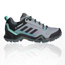 adidas Womens Terrex AX3 GORE-TEX Walking Shoes Blue Grey Sports Outdoors