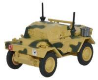 OXFORD MILITARY- DINGO SCOUT CAR - 50TH RTR 23RD ARMOURED BRIGADE TUNISIA - 1:76