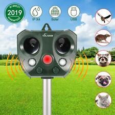 Solar Ultraschall Animal Repeller Tiervertreiber Katzenschreck Hundevertreiber