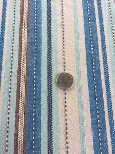 "Bobby Flay Striped Blue Serape Tablecloth 61"" X 99"" EUC"