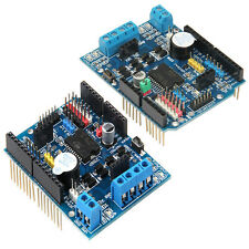DC Motor Driver Module 2A H-Bridge 2 way For Arduino UNO 2560 L298P Shield R3