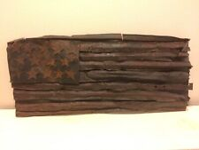 Metal American flag by Pat Williams Outsider Art