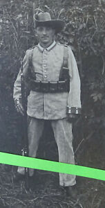 Photo Soldat Schutztruppe Dsw Afrique Deutsch-Südwestafrika Colonie 1910