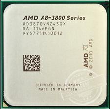 AMD A8-Series A8-3870K 3 GHz AD3870WNZ43GX  Socket FM1 CPU Processor