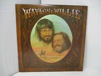 Willie Nelson & Waylon Jennings Waylon & Willie LP RCA 1977