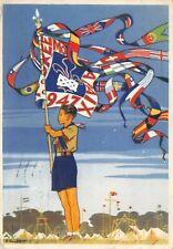 A5999) SCAUTISMO, FRANCIA, JAMBOREE 1947. VIAGGIATA