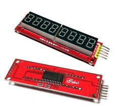 Red MAX7219 8-Digit LED Display NEW Module Digital Tube for Arduino SPI Control