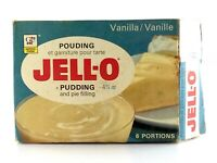 Vintage 1970s Jell-O GF General Foods Vanilla Pudding Empty Opened Box L408