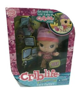 Baby Alive Crib Life Doll Born Awesome Lilly Sweet Retired Hasbro 2010