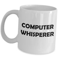 Computer Whisperer Coffee Mug Gift Cup For PC Support Specialist IT Tech Nerd US