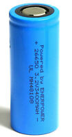 Enerpower 26650 LiFePo4 3,2V 3400 mAh (3C) Lithium-Eisenphosphat 10,2A IFR26650
