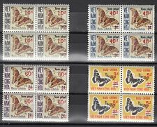 S. Vietnam Scott J21-4 Mint NH blocks (Catalog value $30.00)