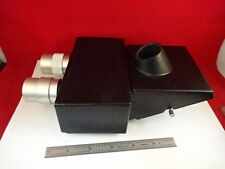 MICROSCOPE PART BAUSCH LOMB INDUSTRIAL MICROZOOM HEAD OPTICS AS IS #Z1-A-01