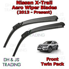 (13-19) For Nissan X-Trail Aero Wiper Blades Front Flat Blade Wipers X Trail T32