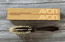 Vintage Avon Mini Brush Natural Performance Nylon Bristles 6 inch 1982 NEW NOS
