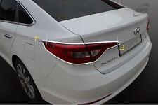Genuine Chrome Rear Tail Light Lamp Cover Molding Trim for Hyundai Sonata 15-16