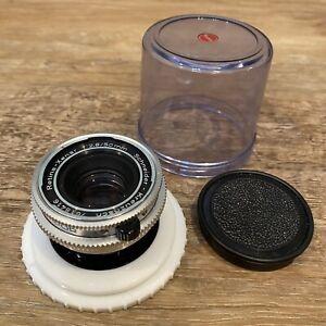 NICE!  Vintage Deckel Lens Schneider-Kreuznach Retina-Xenar 50mm f2.8 - Germany