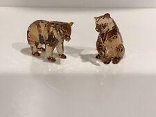 "2017 Swarovski Scs Arcadia Golden Cubs Figurines ""Signed� #5384072 Nib!"