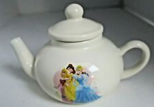 Disney Tea Pot Toy Girls w/ 3 Favorites Cinderella Belle 2008