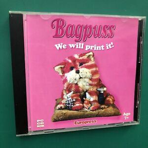 BAGPUSS (PRINT IT) Kids Fun Activity PC CD-ROM Professor Yaffle Windows 95/98/XP