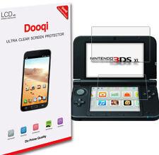 3X Dooqi Top+Bottom Clear LCD Screen Protector Film Guard For Nintendo 3DS XL LL