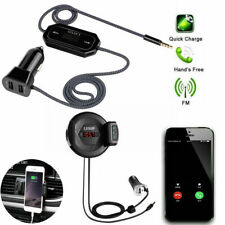 Bluetooth Car FM Transmitter Hands free Radio MP3 Player Adapter Kit USB Charger