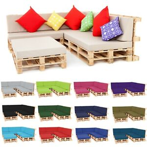 Pallet Seating Garden Furniture DIY Foam Cushions with Water Resistant Covers