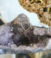 """Daith Heart 16g Niobium 1/2"""" - left or right daith - piercing"""