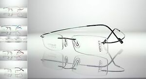 HINGELESS Titanium Rimless VARIFOCAL PROGRESSIVE MULTIFOCAL Reading Glasses