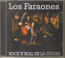 LOS FARAONES - Rock´n´roll En La Ciudad - Rockabilly Español Cd Mexican Edition