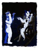 """Diablo"" by  Juan Garcia Ripolles  Original Signed Lithograph 1981 GVA Pro Paper"
