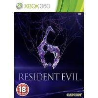 RESIDENT EVIL 6  EN CASTELLANO NUEVO PRECINTADO XBOX 360
