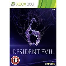 RESIDENT EVIL 6 IN SPANISH SPANISH NEW SEALED XBOX 360