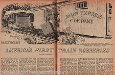 Jefferson Madison & Indianapolis RR Train Robery