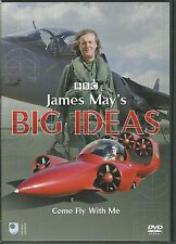 JAMES MAYS BIG IDEAS COME FLY WITH ME DVD - James May