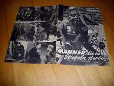 NFP 1529  Männer die in stiefeln sterben  GEORGE MONTGOMERY