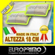 OFFERTA MATERASSO MATRIMONIALE PIU' 2 CUSCINI IN LATTICE 100% MADE IN ITALY !