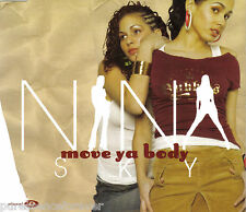 NINA SKY - Move Ya Body (ft JABBA) (UK 4 Trk Enh CD Single)