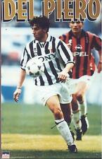 1996 Alessandro Del Pierro JUVENTUS Original Starline Poster OOP ERROR