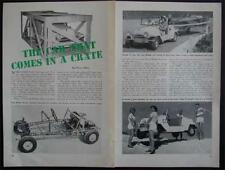 King Midget Jeep 1954 pictorial Kit Car in a Crate
