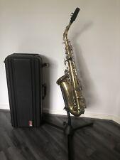 SAGA SAS-108 Alto Saxophone With Case Selmer Neck