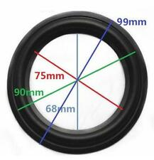 "High Quality 4"" 4 inch 90mm Speaker Surround Repair Rubber Edge Replacement *"